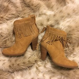 Super Cute American Eagle Fringe Booties